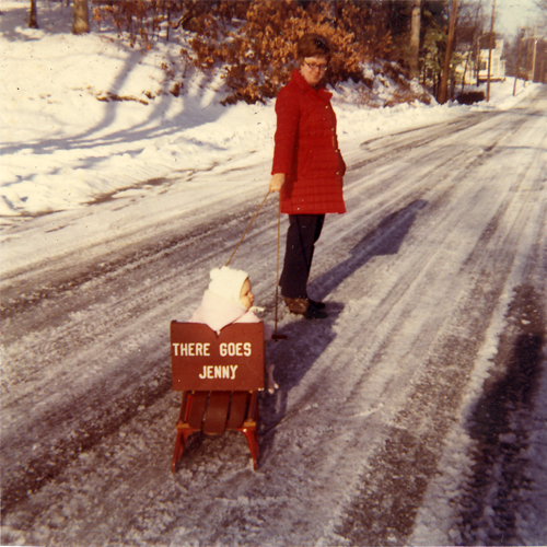 me in my sled