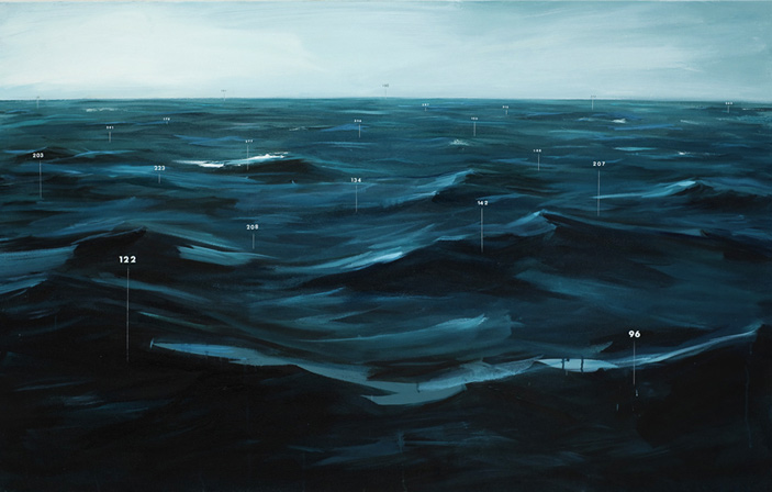 Fathom Painting No. 1 by Oliver Jeffers
