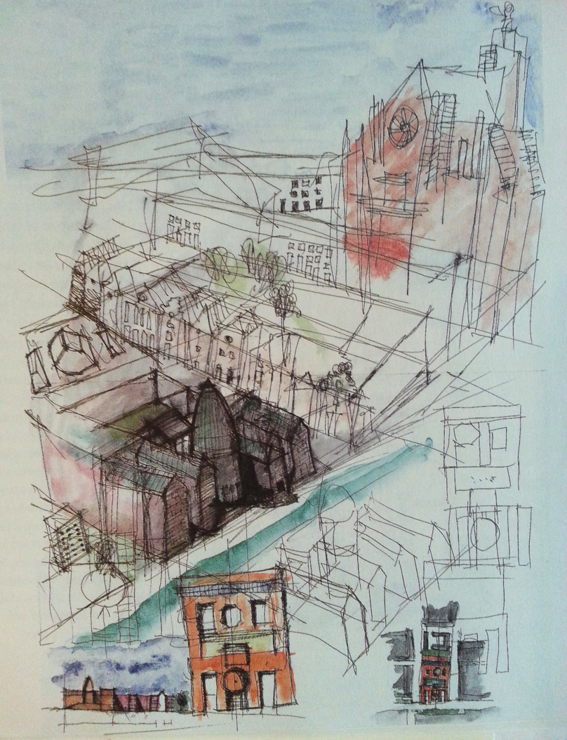 Drawings and sketches on pinterest - The urban treehouse the wonder in the heart of berlin ...