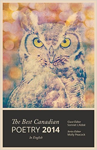 The Best Canadian Poetry 2014